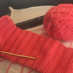 Crochet Scarf I made myself!